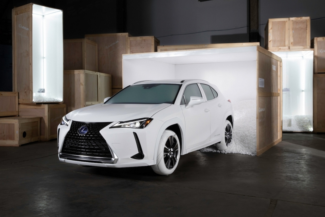 Lexus stworzył opony inspirowane butami