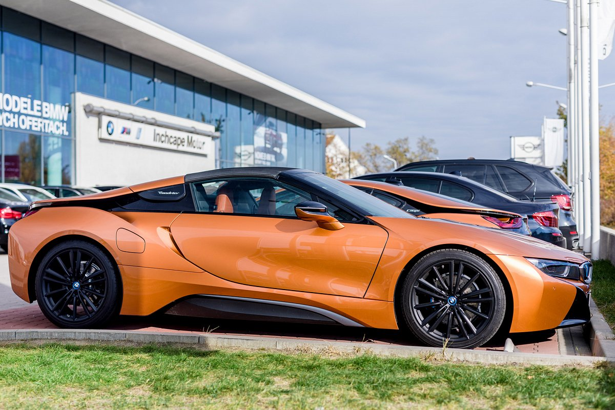 Najnowsze BMW i8 Roadster