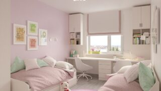 Pokój dziecka – sypialnia dla dziewczynki
