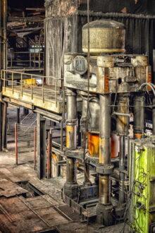 Wyposażenie hali produkcyjnej