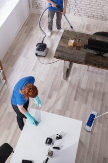 Jak zadbac o czystosc w biurze